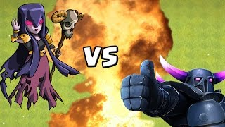 HEXE vs. PEKKA! *maxed* || CLASH OF CLANS || Let