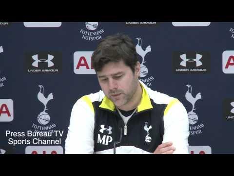 Mauricio Pochettino Pre Tottenham vs Sheffield
