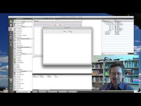 Qt5 Tutorial: A 3-Widget Application
