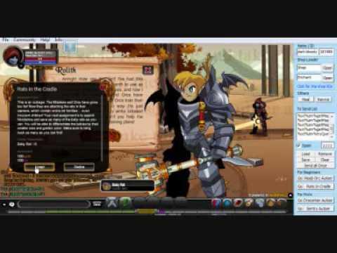 AQW EXP + GOLD HACK