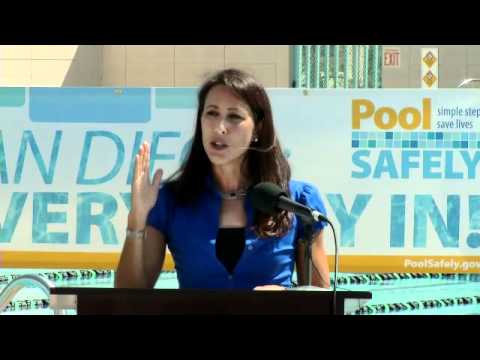 Pool Safely 2011 Launch - Janet Evans