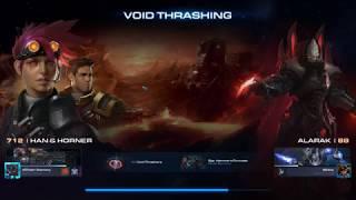 Starcraft 2 Co-Op Void Thrashing