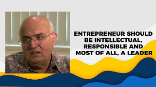 Entrepreneur Should Be Intellectual