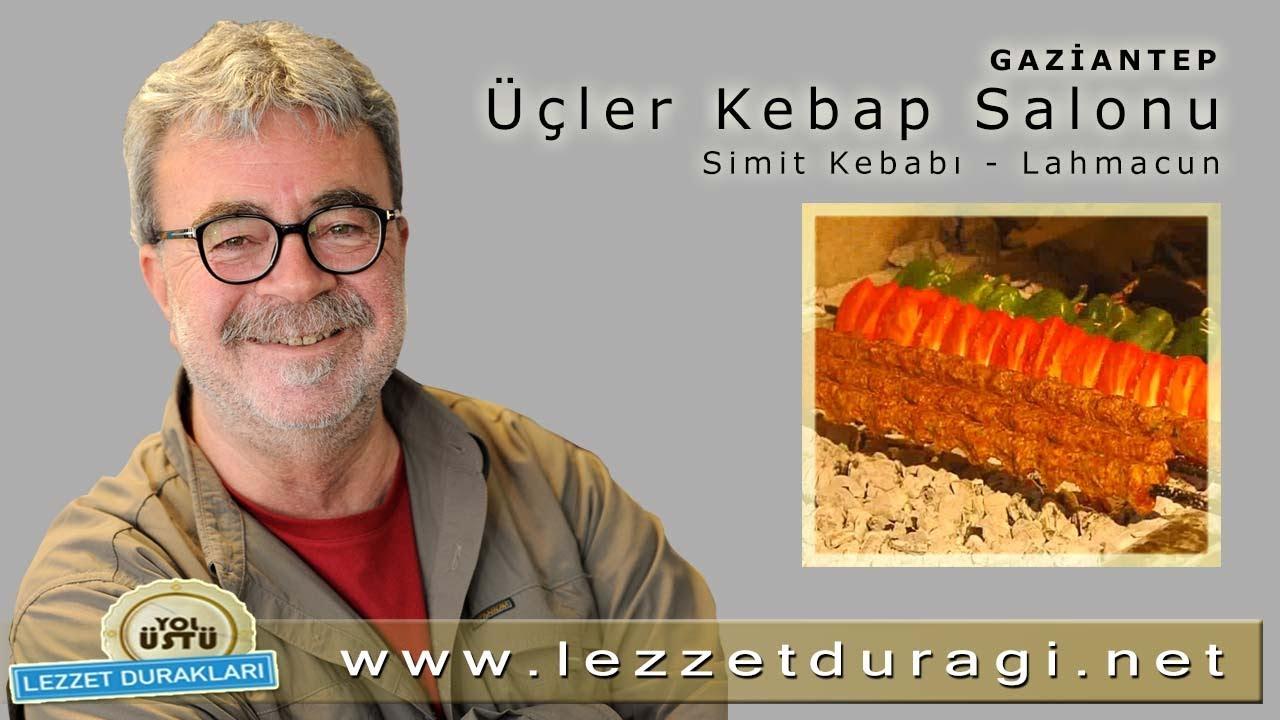 Üçler Kebap - Salonu Simit Kebabı - Lahmacun - YouTube