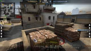 CS:GO 5v1 Clutch and Big Ace final is by knife :)(P2 -kLejkA~)