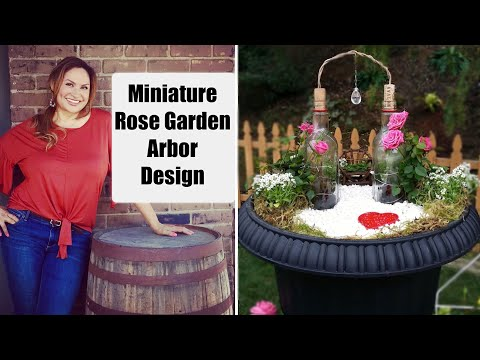 Shirley Bovshow's Mini Rose Garden on Home and Family Show