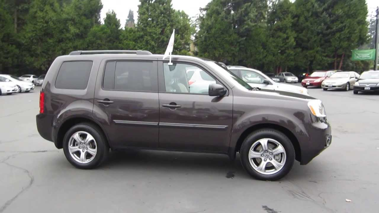 honda pilot dark amber metallic stock  walk  youtube