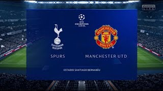 Fifa 19 Spurs vs Manchester United Xbox One S Full Match Gameplay