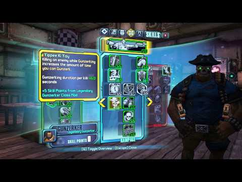 Borderlands 2 OP8 Gunzerker Build: Salvador The Sheriff