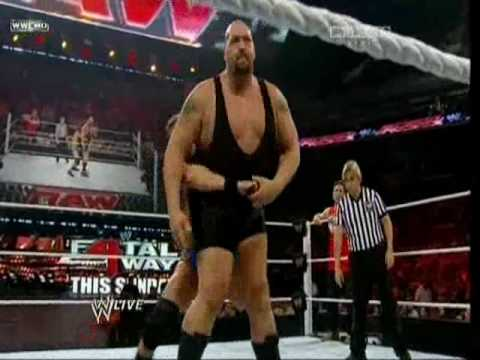 The Big Show and Mark Feuerstein vs Ted DiBiase and Virgil WWE Raw 06 14 10