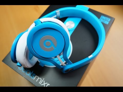 Beats by Dr. Dre MIXR NEON BLUE