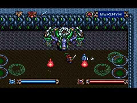 Brandish (SNES) Final Battle