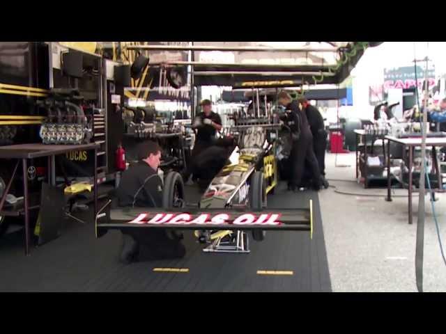 NHRA's Morgan Lucas Racing & Richie Crampton ready for Reading, PA