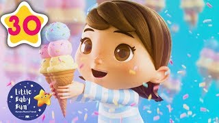Ice Cream Song! | Animation For Kids | Kids Songs | Little Baby Bum | Moonbug TV After School