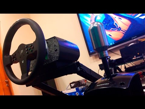 Анбоксинг Fanatec ClubSport Shifter SQ и ClubSport Handbrake