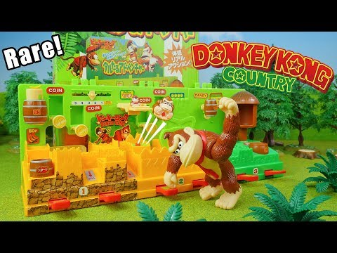 Donkey Kong Country Barrel Adventure | Rare Toys for Kids