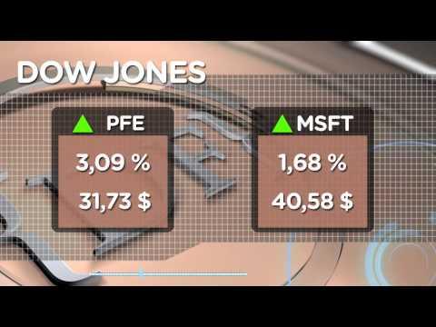 Wall Street comienza con leves subidas una semana clave