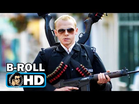 HOT FUZZ Bloopers Gag Reel (Uncensored) Simon Pegg, Nick Frost