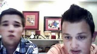 Noah Munck and Nathan Kress Ustream Part 1/4 - 01.06.2011