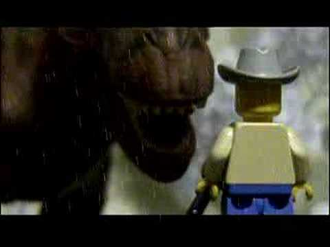 Jurassic Park In a Minute (Lego) Video