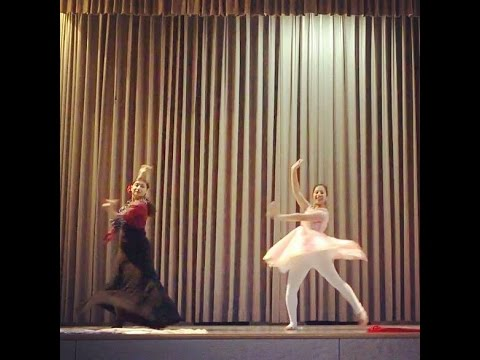 Fusion of Flamenco and Kathak