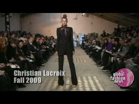 CHRISTIAN LACROIX FALL 2009 Video