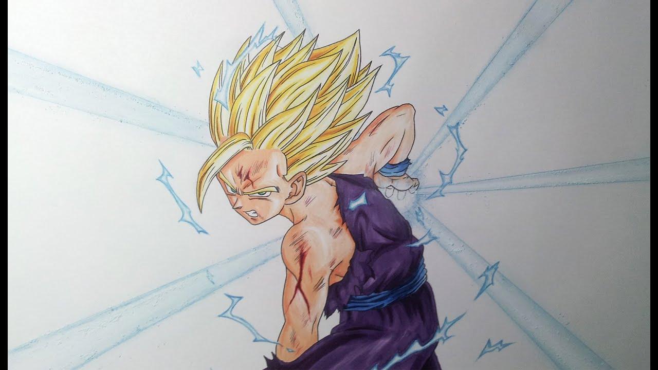 Drawing Gohan Ssj Drawing Gohan Ssj2\super