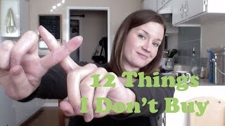 12 Things I Don