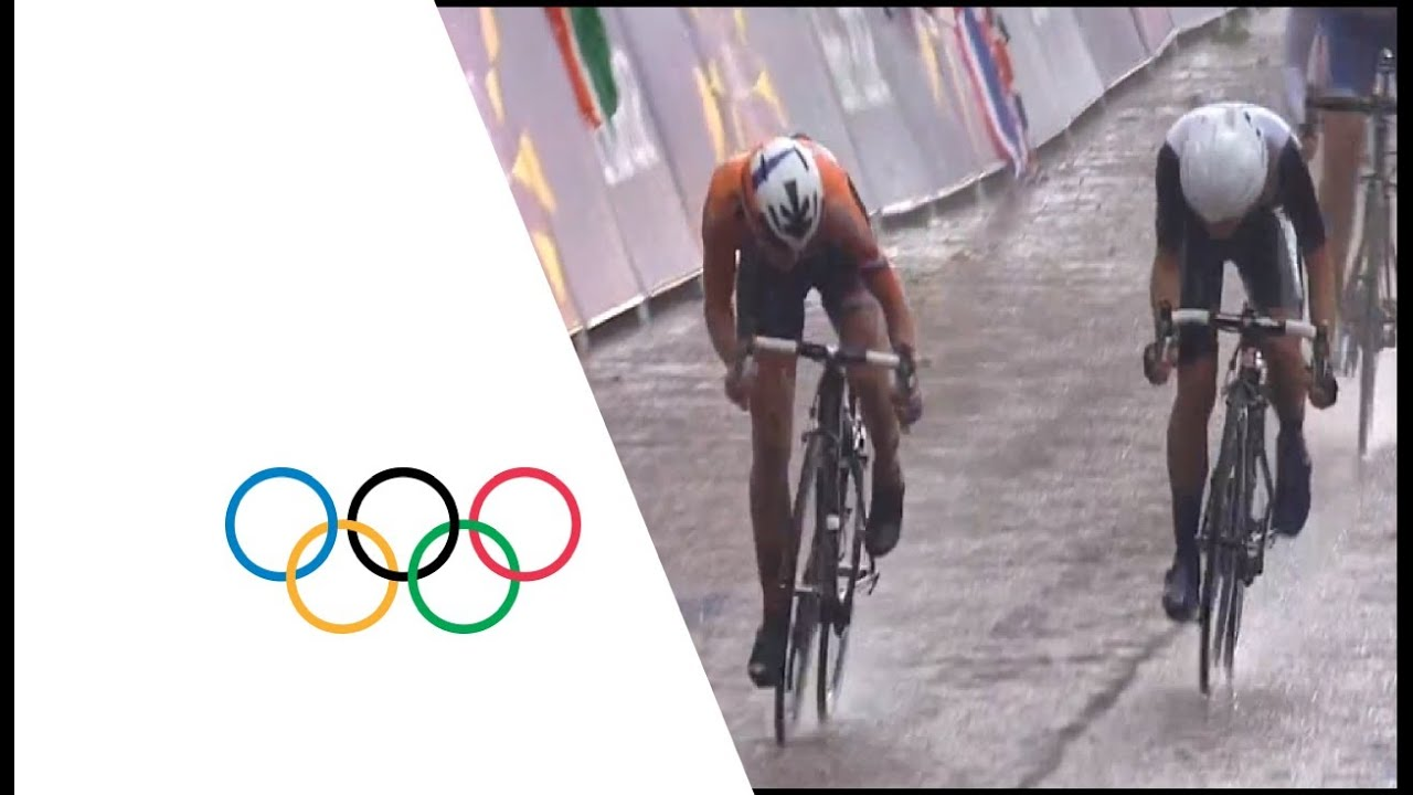 Vos win s gold in women s road race london 2012 olympics youtube