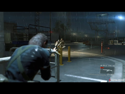 Metal Gear Solid V - Ground Zeroes: Max Settings at 4K PC Gameplay