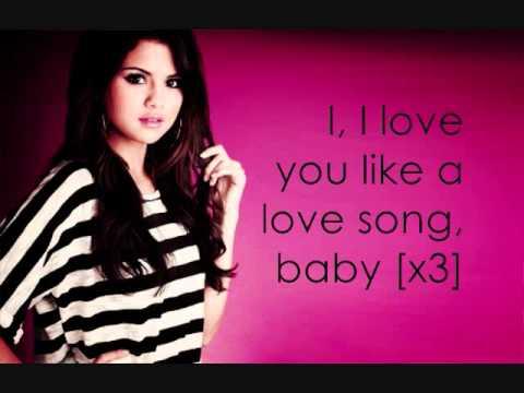 i Love u Like a Love Song Baby Love You Like a Love Song Baby