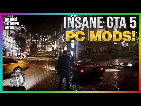 GTA 5 PC Photo Realistic Mod Info! (INSANE PC Graphics Mod ICEnhancer)