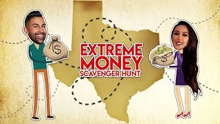 Extreme Scavenger Hunt: Hiding $100 Bills Around El Paso | Dhar and Laura