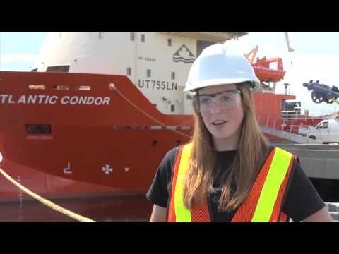 Carolyn Skerry:  Marine Survey Technician