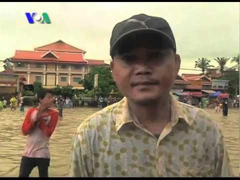 Flooding Cambodia