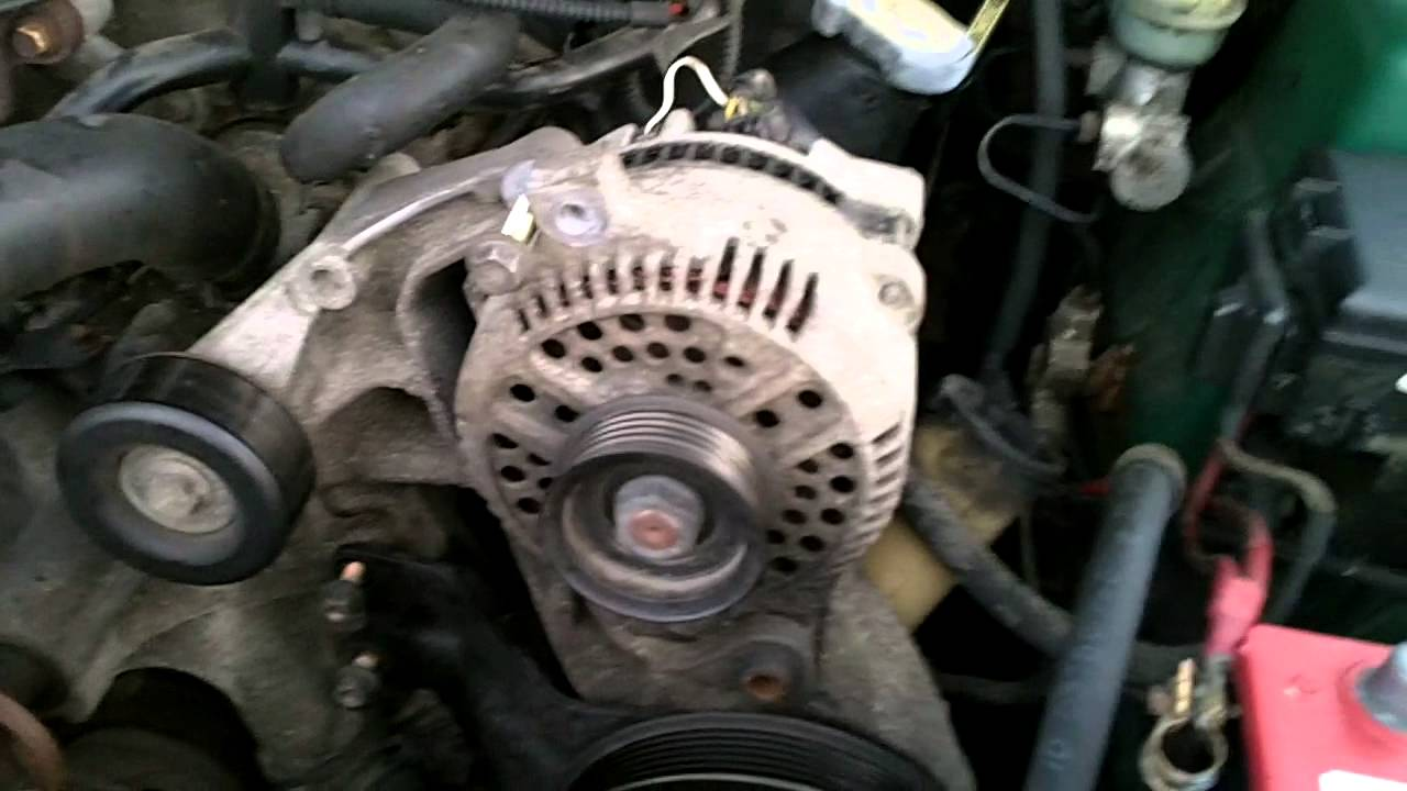 2000 Mustang 3 8 V6 Water Pump Replacement Youtube
