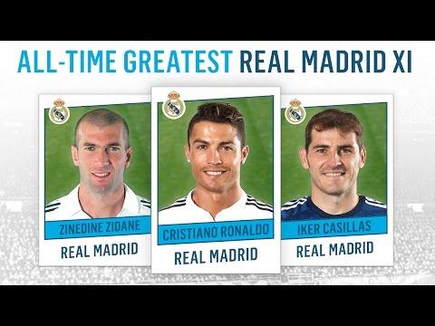 All-Time Greatest Real Madrid XI | Ronaldo, Zidane, Casillas!