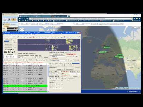 30-meter JT65A QSO 15 April 2013 NW7US