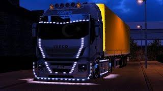 [ ETS2 1.30 ] Full Faça Iveco Basık Cocuk WORKS Mods Tanıtım #1 [ Euro Truck Sımulator 2 ] 7.27 MB