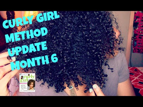Curly Girl Method UPDATE: Month 6  | HENNA?,  Hair Shape Up , 6 Month Comparison (Results)