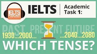 IELTS Academic Task 1 - Which Tense?