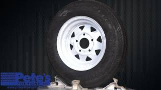 Carlisle Sport Trail Trailer Tire and Wheel 5.30x12 (5 Lug)