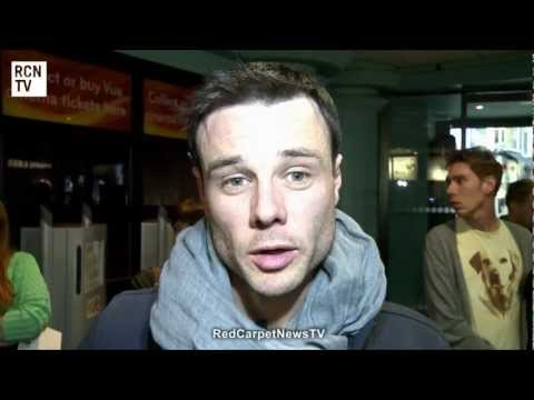Rupert Evans Interview - Elfie Hopkins World Premiere
