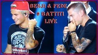 Benji & Fede esibizione Battiti Live  Puglia Nardò 2017