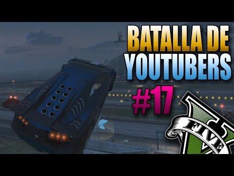 GTA V Online - ¿Pero Que Cojones? - Batalla de YouTubers #17 - Funny Moments Carreras GTA 5