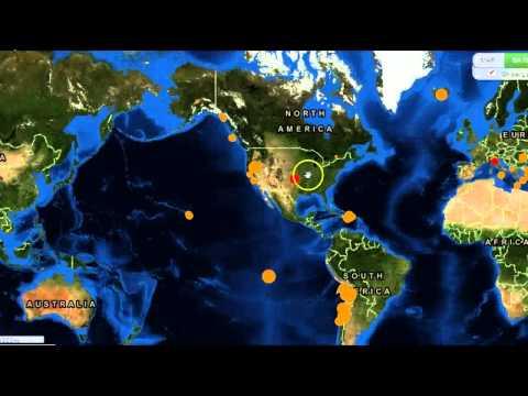 6.8 Earthquake Strikes Near Vanuatu, Worldwide Quake Update