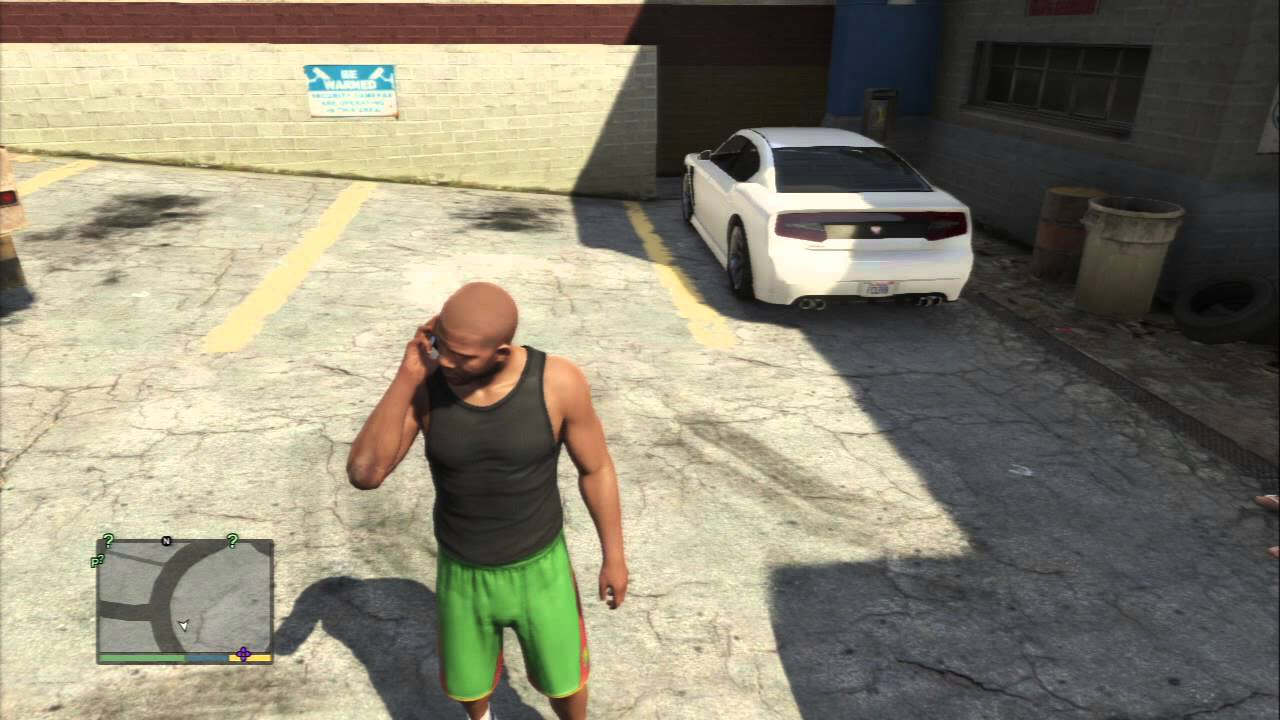 "Don Franklin Auto >> Grand Theft Auto V - Tanisha Marks Calls & Lectures Franklin ""I'm getting Married Tomorrow"" PS3 ..."