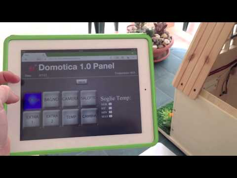 Progetto Domotica 2013 ARDUINO – TIDIGINO – Home Automation – Architettura client/server – ITIS SAVA