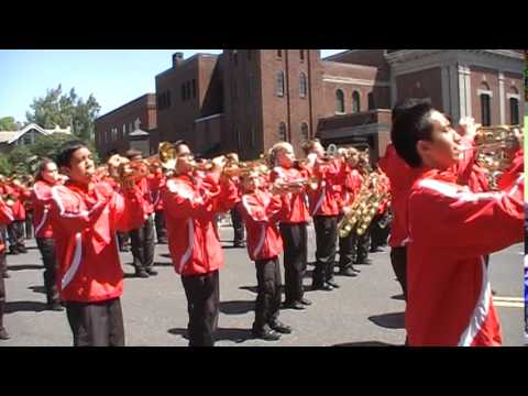 Hazelbrook Middle School Jr Rose Parade 2014