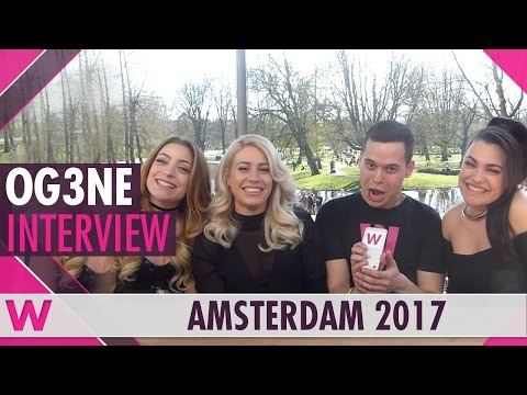 OG3NE (The Netherlands 2017) Interview | Eurovision in Concert 2017